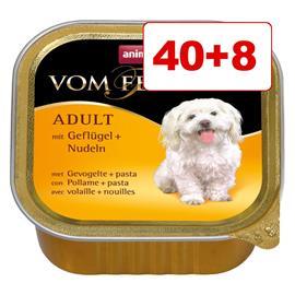 Animonda vom Feinsten koiranruoka 48 x 150 g: 40 + 8 kaupan päälle! - kalkkuna & lammas
