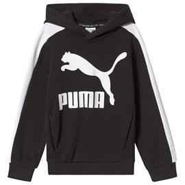 Black Branded Pull Over Hoodie3-4 years