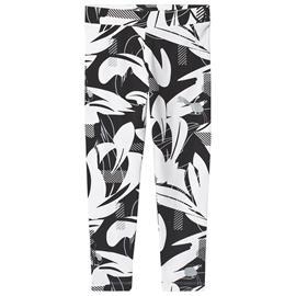 Black Printed Alpha Leggings5-6 years