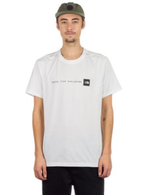 THE NORTH FACE Never Stop Exploring T-Shirt tnf white / tnf black Miehet