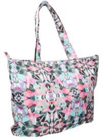 O'Neill Aop Shopper Bag white aop w / green Naiset