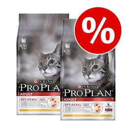 Pro Plan -kissanruoka 2 x 3 kg: 20 % alennus - Original Adult Rich in Chicken