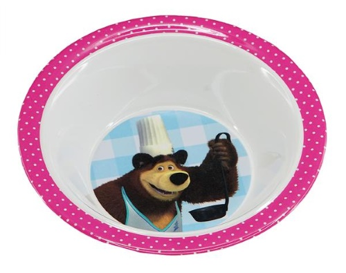 Masha and the Bear Melamine, bowl
