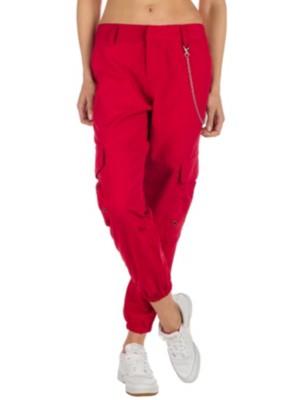 Ninth Hall Talia Pants red Naiset