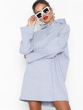 Missguided Oversized Hooded Sweater Dress