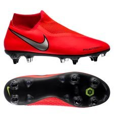 Nike Phantom Vision Academy DF SG-PRO Game Over - Punainen/Hopea