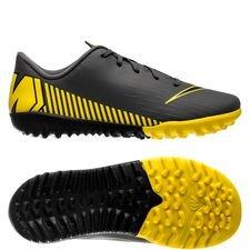 Nike Mercurial Vapor 12 Academy TF Game Over - Harmaa/Keltainen Lapset