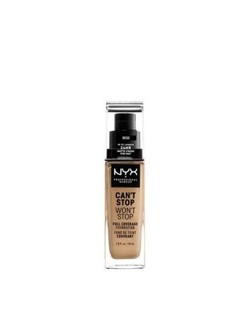 NYX Professional Makeup Can't Stop Won't Stop Foundation Beige