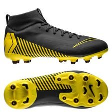 Nike Mercurial Superfly 6 Academy MG Game Over - Harmaa/Keltainen Lapset