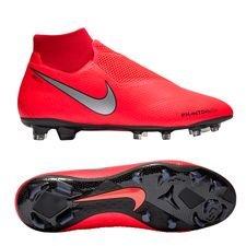 Nike Phantom Vision Pro DF FG Game Over - Punainen/Hopea