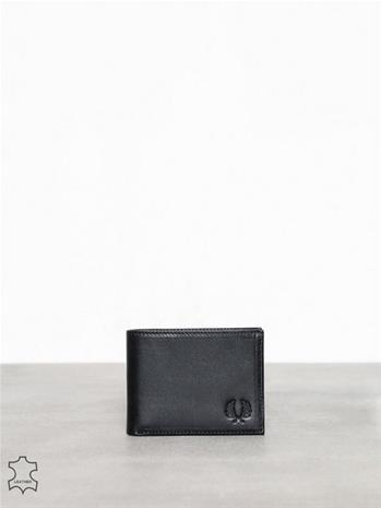 Fred Perry Lth Billfold Wallet Laukut Black