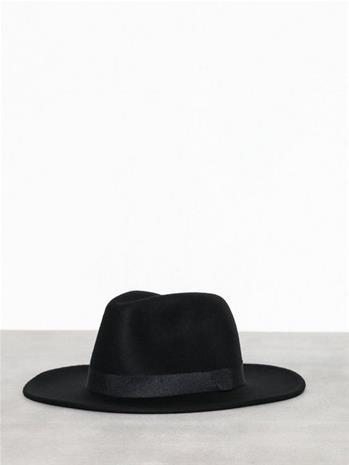 Topman Black Fedora Hat Hatut Black