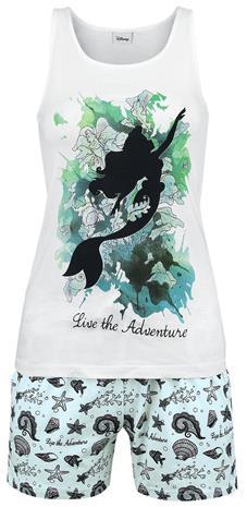 Pieni Merenneito Live The Adventure Pyjama valkoinen-sininen