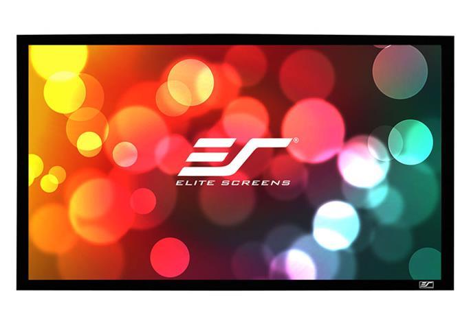 Elite Screens R110WH1-A1080P3 (seinä-/kattokiinnitys) 16:9 244*137, valkokangas