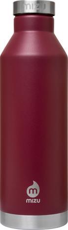 MIZU V8 juomapullo with Stainless Steel Cap 800ml , punainen