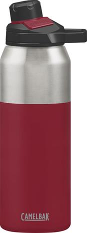 CamelBak Chute Mag juomapullo 1000ml , punainen/hopea
