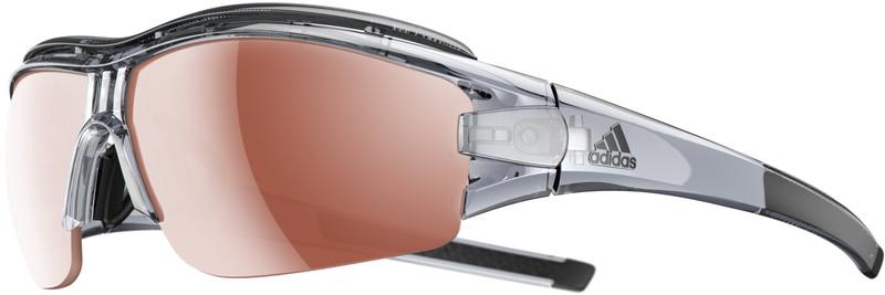 adidas Evil Eye Halfrim Pro Pyöräilylasit L , ruskea/läpinäkyvä, Korut, rannekellot, lompakot ja aurinkolasit