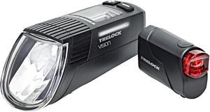 Trelock LS 760 I-GO Vision/LS 720 ajovalosetti , musta