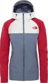 The North Face Stratos Naiset takki , harmaa/punainen