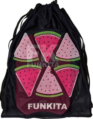 Funkita Mesh Gear Bag Naiset Laukku , musta/monivärinen, Uintitarvikkeet