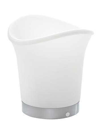 """MyHome """"LED-juomajäähdytin valkoinen, eriväriset LED-valot"""""""
