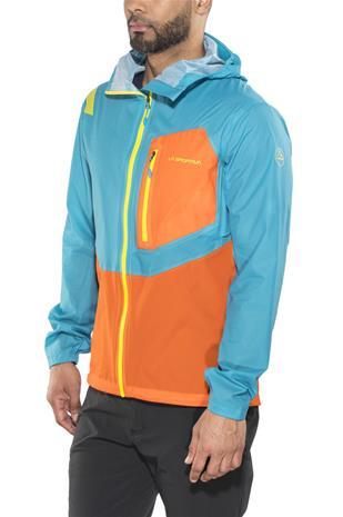 La Sportiva Hail Miehet takki , oranssi/sininen