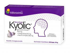Valioravinto Kyolic Neurologic 60 kaps.