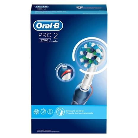 Braun Oral-B Pro 2 2700 CrossAction, sähköhammasharja
