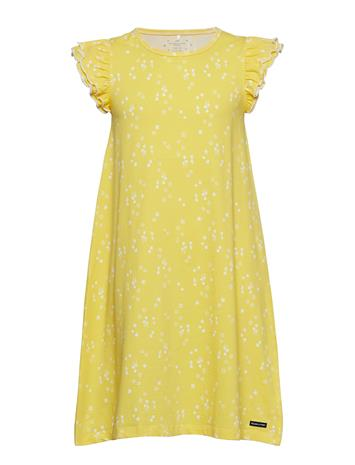 Polarn O. Pyret Nightdress With Print Keltainen