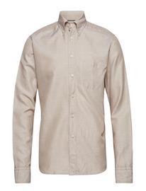 Eton Beige Cotton & Linen Shirt Beige