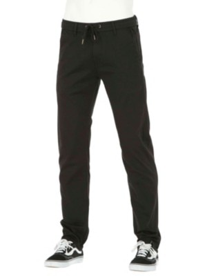 REELL Reflex Easy Straight Pants Long black Miehet