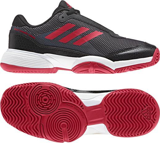 Adidas Barricade Club JR Tenniskengät, Black 35