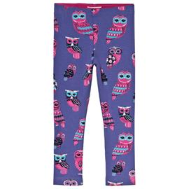 Fancy Owls Leggingsit Violetti6 years
