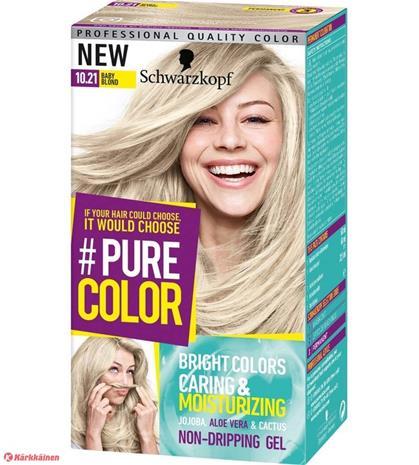 Schwarzkopf #PureColor 10.21 Pearl Blond hiusväri