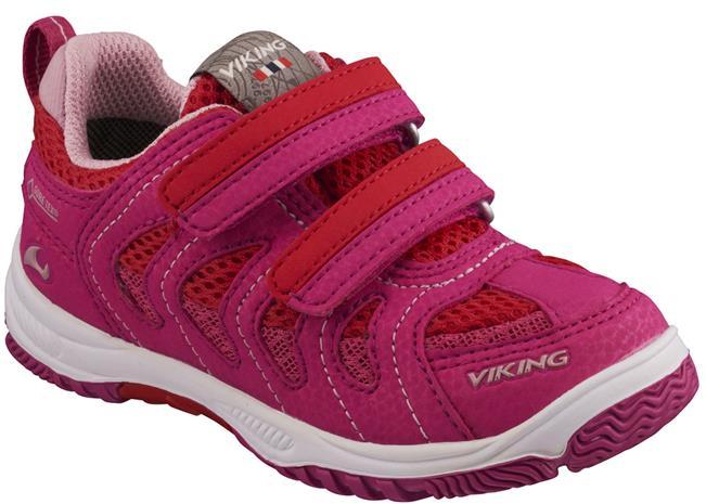 Viking Cascade II GTX Sneaker, Magneta/Red 28