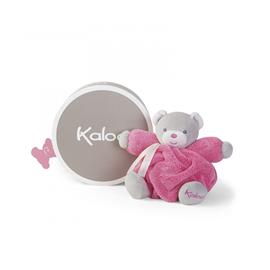 Kaloo - Plume - Rasperry Chubby Bear, 18 cm