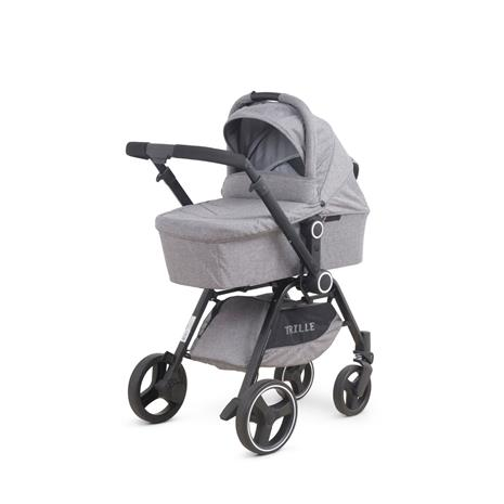 Trille - Saga Combi Pram/Stroller - Grey