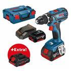 Bosch GSR 18V-28 Professional L-BOXX (0615990K7H) 18V 2x5,0Ah, akkuporakone/-ruuvinväännin