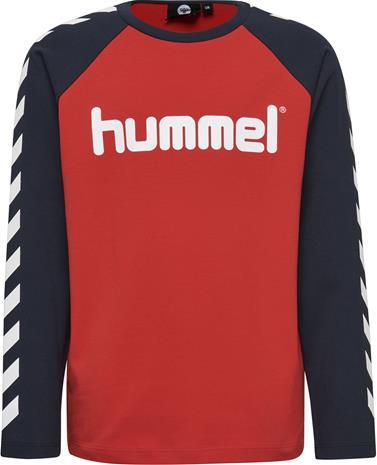 Hummel Boys T-Paita, Punainen 104
