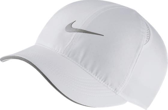 Nike W NK FTHLT CAP RUN WHITE