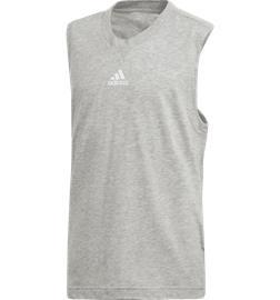 Adidas G YG ID TANK MEDIUM GREY HTR