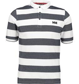 Helly Hansen M MARSTRAND POLO NAVY STRIPE