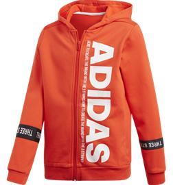 Adidas J YB SID FZ HOOD ACTIVE RED