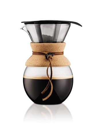 Bodum Pour Over, kahvinkeitin 1,0 L, 8 kuppia