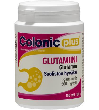 Colonic Plus Glutamiini 160 tabl. ravintolisä