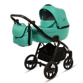 knorr-baby Yhdistelmävaunut Piquetto Uni, smaragdinvihreä