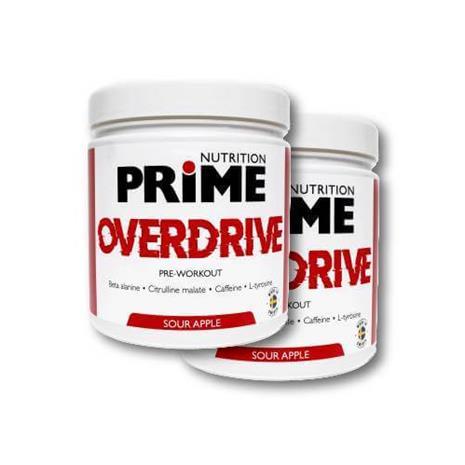 Prime Nutrition 2-pack Overdrive - Sour Apple 300g