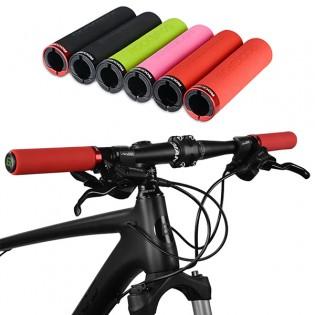 RockBros vaahtomuovikahvat pyörään - Vaaleanpunainen
