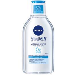 Nivea MicellAIR Water -puhdistusvesi normaalille iholle 400 ml