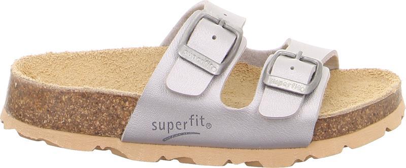 Superfit Fussbett Kengät, Silver 33